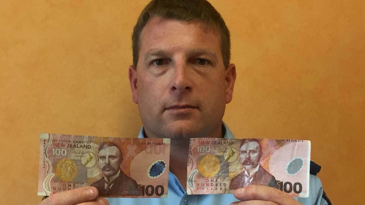 counterfeit cash circling prompts warning from police