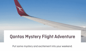 Qantas creates mystery flights