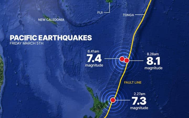 More than 140 quakes of magnitude 4