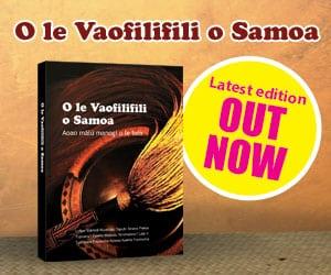 O le Vaofilifili o Samoa Book