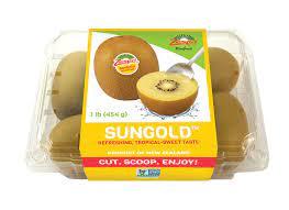 SunGold kiwifruit