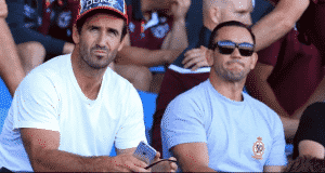 Andrew Johns and Matthew Johns - Radio Samoa