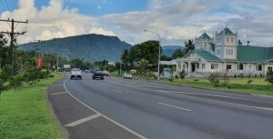 Road in Samoa - Radio Samoa