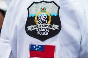 samoa police badge - Radio Samoa