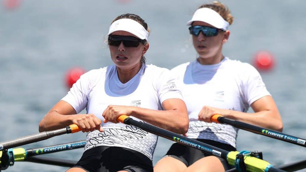Silver for NZ in womens doubles rowing
