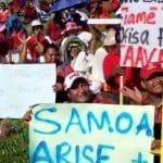 Toatele na auai i le savali o le filemu Samoa mo Samoa