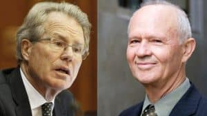 Justice Robert Fisher & Justice Raynor Asher