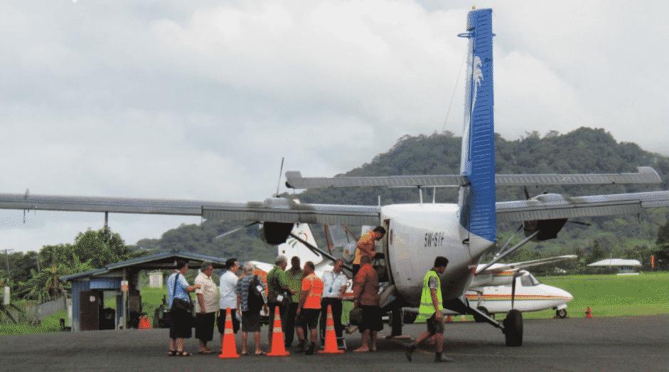 Samoa Airways ao sauni mo le malaga i Amerika Samoa (ata tuai) -Maina Vai