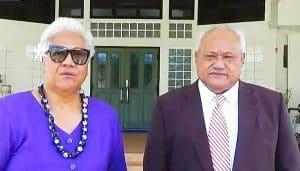 Fiame Naomi Mataafa & Papalii Li'o Taeu Masepau